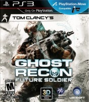 Tom Clancys Ghost Recon Future Soldier (PS3, русская версия)