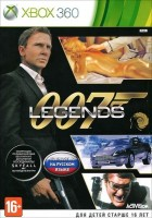 007 Legends (Xbox 360, русская версия)