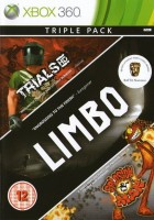 Triple Live Arcade Pack: Trials HD  / Limbo  / Splosion Man (xbox 360)