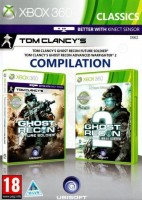 Tom Clancy's Ghost Recon Future Soldier + Advanced Warfighter 2 (Xbox 360, английская версия)