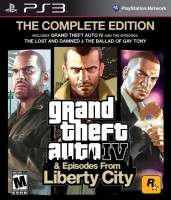 Grand Theft Auto IV + Episodes from Liberty City (PS3, английская версия)