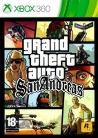 Grand Theft Auto: San Andreas (Xbox 360, английская версия)