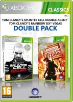Tom Clancy`s Splinter Cell: Double Agent + Rainbow Six Vegas Double Pack (Xbox 360)