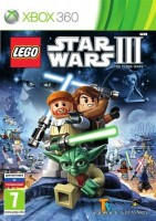 LEGO Star Wars III: The Clone Wars (Xbox 360, английская версия)