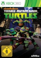 Teenage Mutant Ninja Turtles (Xbox 360, английская версия)