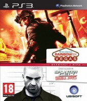 TOM CLANCY'S RAINBOW SIX VEGAS & SPLINTER CELL DA (PS3)