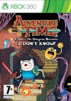 Adventure Time: Explore the Dungeon Because I DON'T KNOW! (Xbox 360, английская версия)