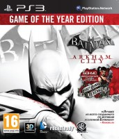 Batman: Arkham City GOTY (PS3)