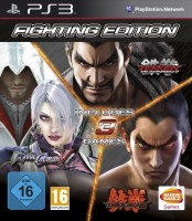Fighting Edition (ps3) TEKKEN 6, SOUL CALIBUR V,TEKKEN TAG TOURNAMENT 2
