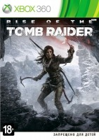 Rise of the TOMB RAIDER (Xbox 360, русская версия)