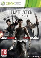 Ultimate Action Triple Pack (Just Cause 2, Sleeping Dogs, Tomb Raider) (Xbox 360)